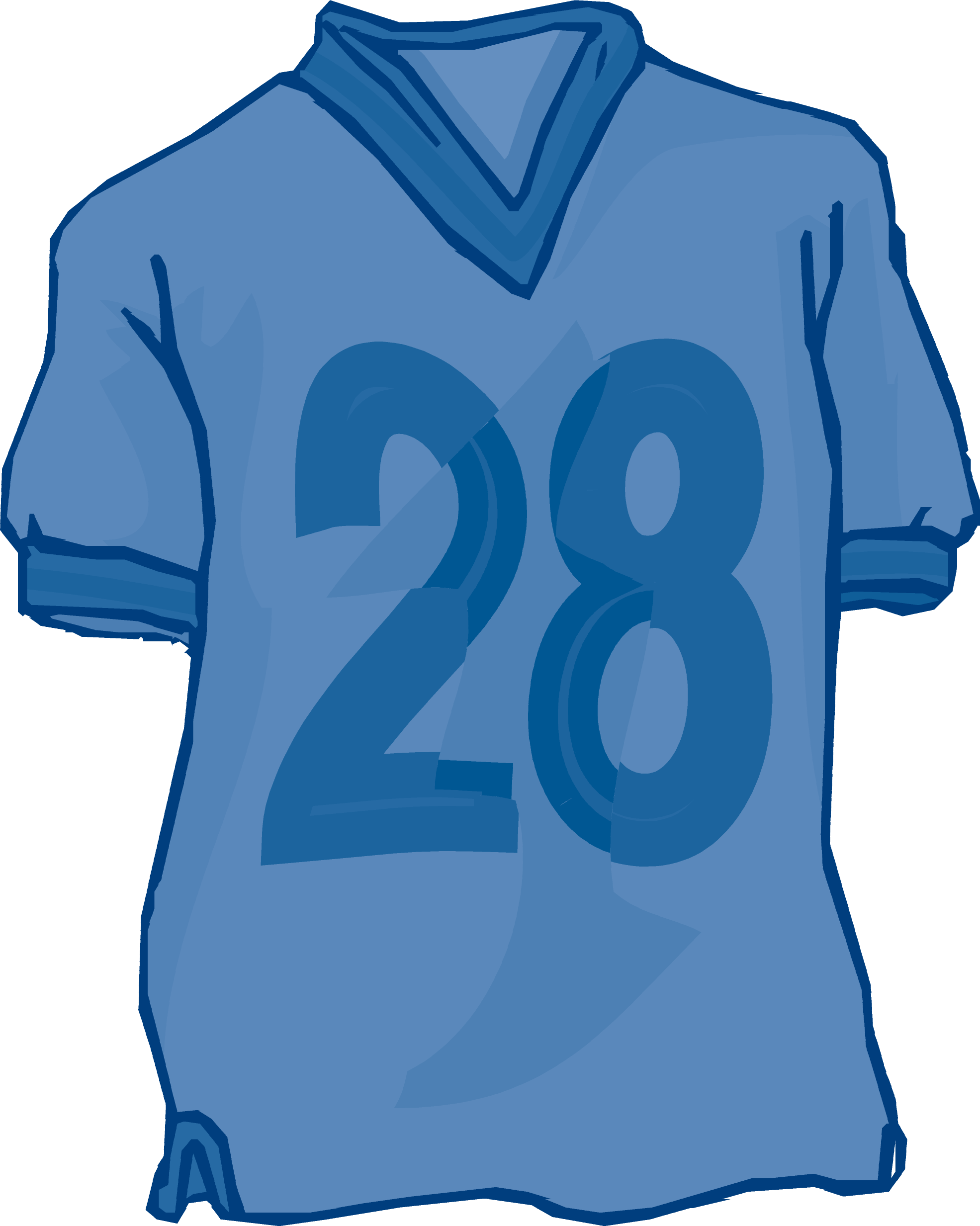 Clipart Football Jersey - ClipartDeck