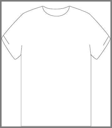 Plain tshirt template clipart best for Plain t shirt template