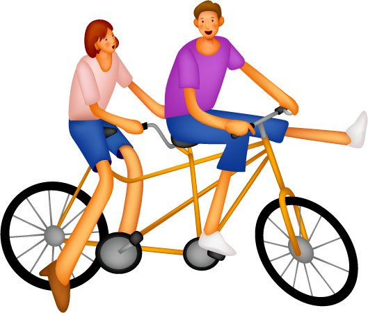 free clip art bike rider - photo #35