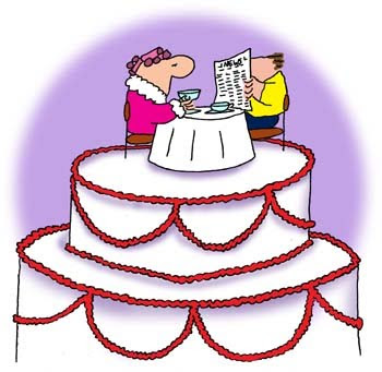 "Wedding Cakes Cartoon "" Unique Cakes "" 