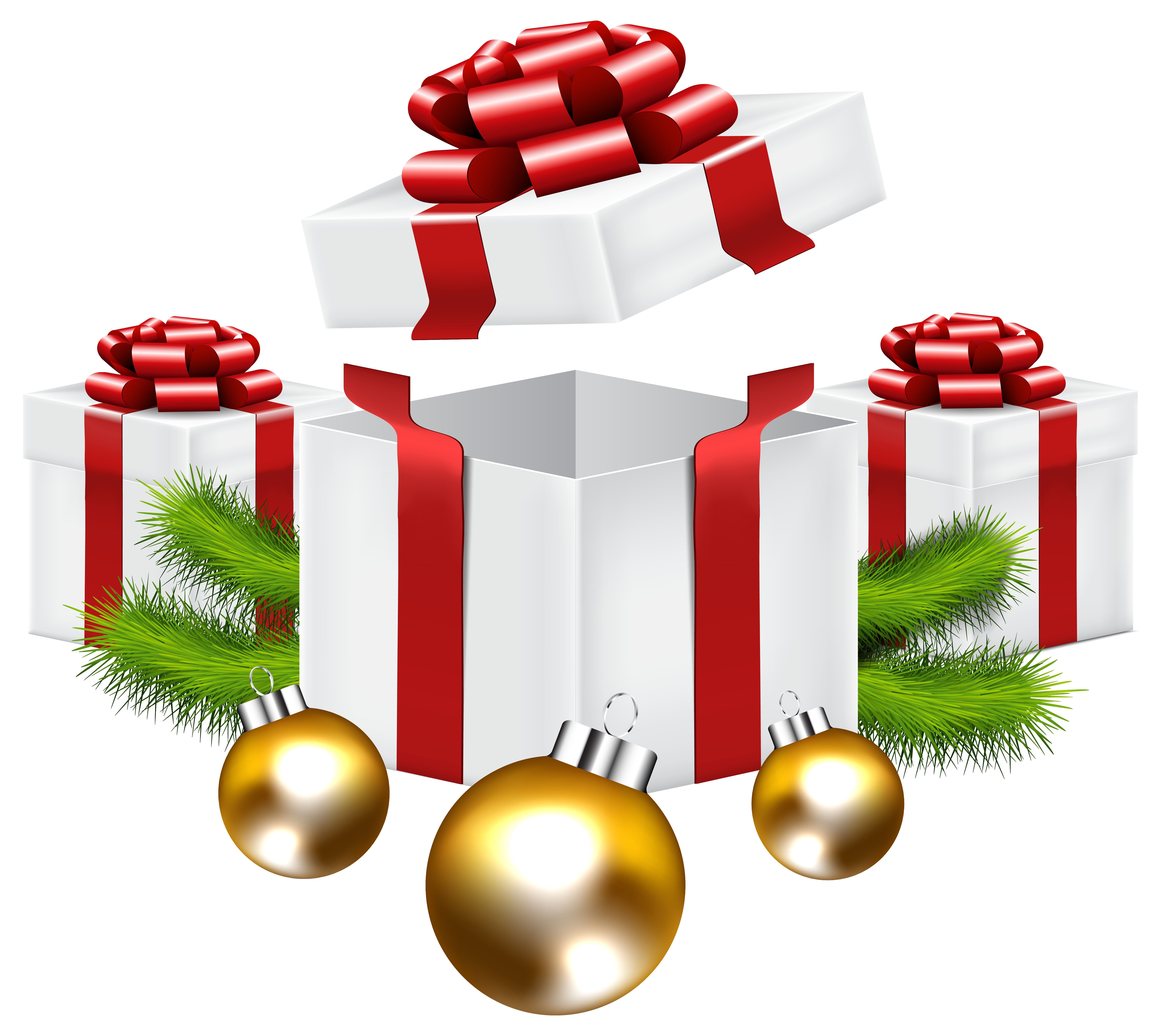 Christmas gifts picture clipart best