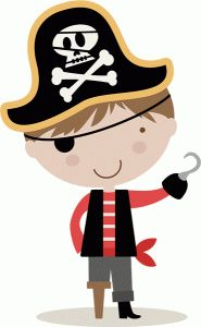 Pirate images for kids clipart