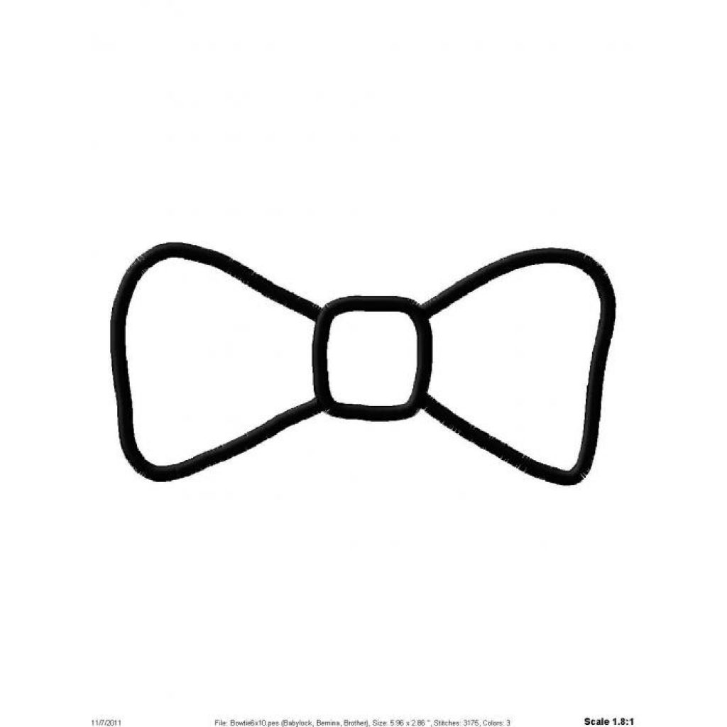 Black Bow Tie Clipart - ClipArt Best