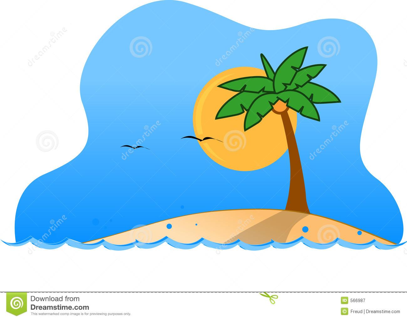 Cartoon Island - ClipArt Best