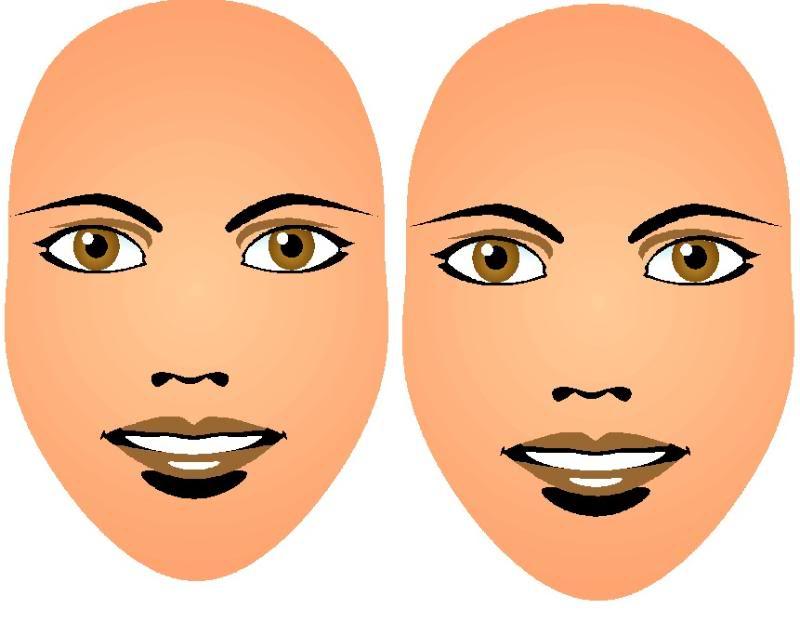 Face Templates  Makeup Scoop