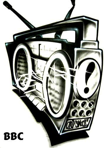 boombox drawing clipart best