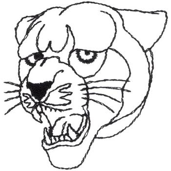 panther drawing outline - photo #39