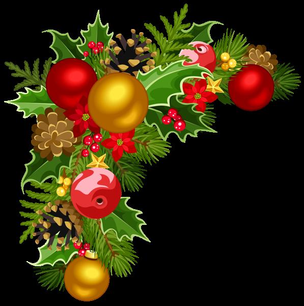 Christmas garland border clip art clipart best