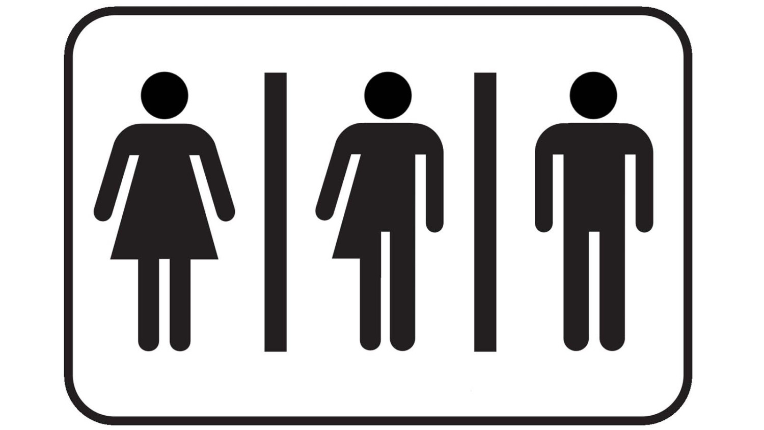 Printable bathroom sign - All Gender Restroom Signs Transgender Restroom Signs Bathroom Sign People Clipart Best Gender Neutral Bathroom