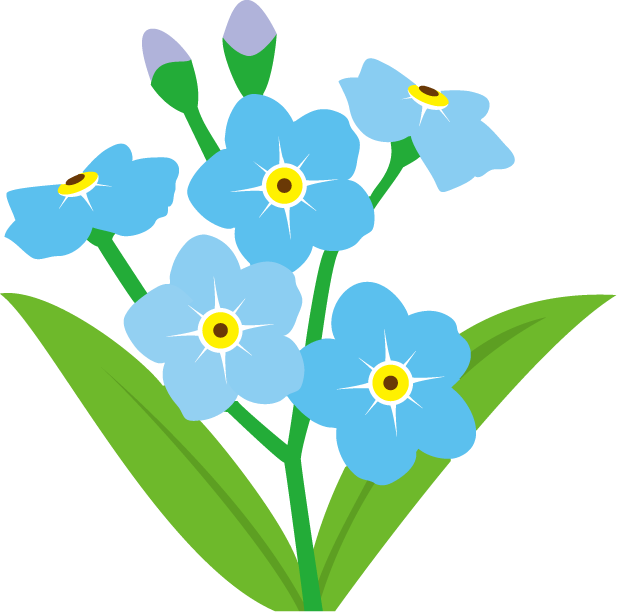 36 forget me not flower clip art . Free cliparts that you can download ...