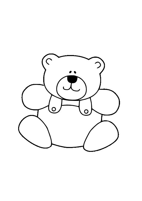 Line Drawing In Qt : Gustavorezende teddy bear black white line art