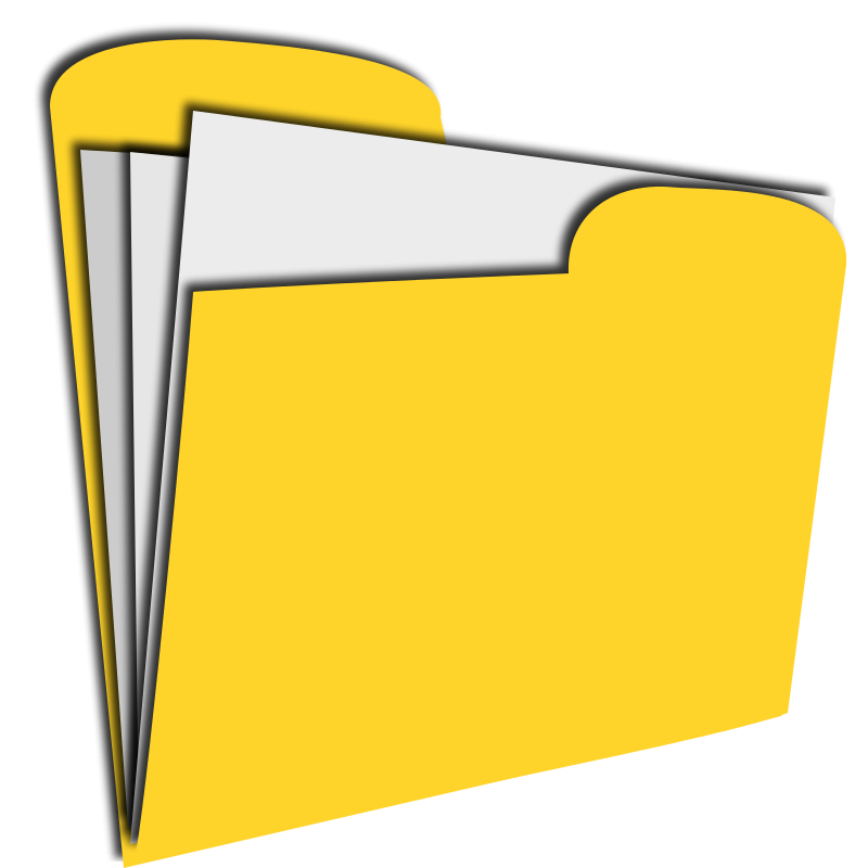 Clipart Folder Icon