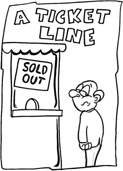 ticket coloring pages | Movie Ticket Coloring Coloring Pages