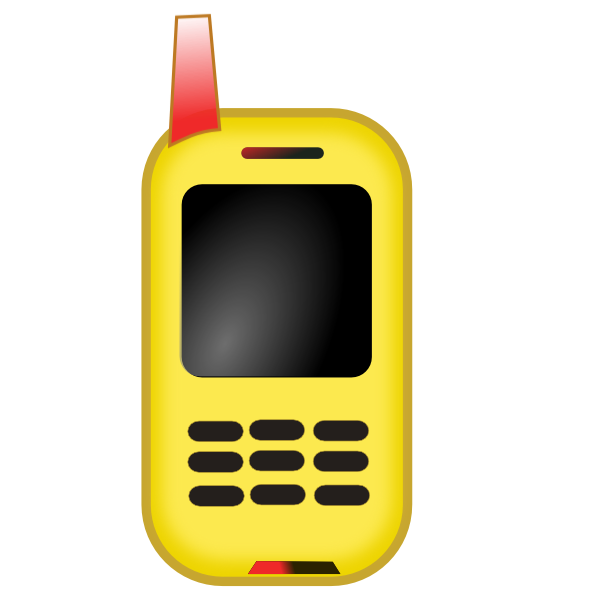 clipart cell phone use - photo #31