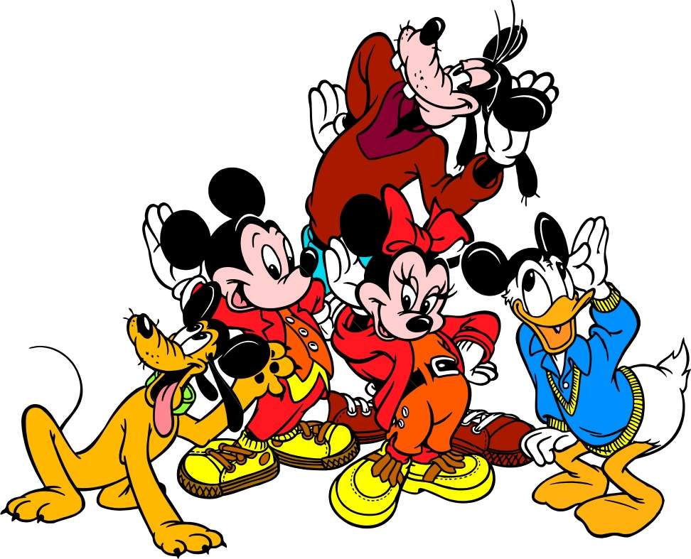 Cartoon Image Of Mickey - ClipArt Best