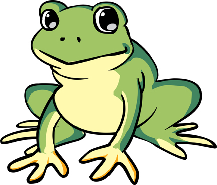 Cartoon frog - photo#15