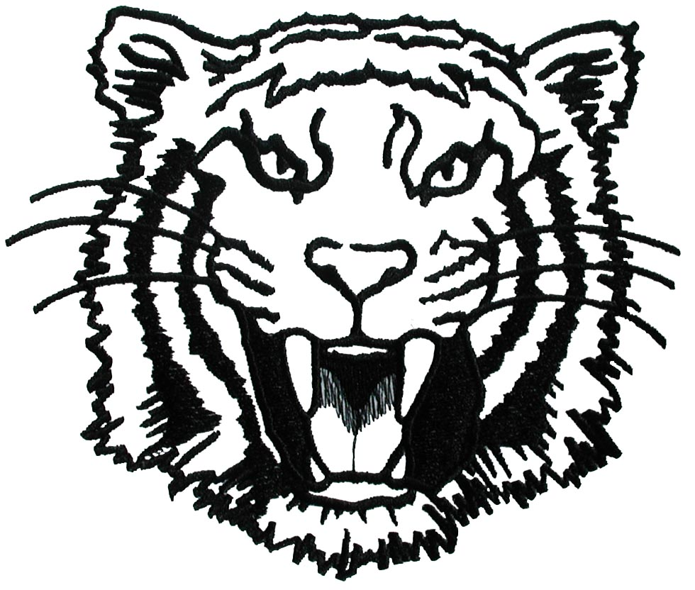 Tiger Face Outline - ClipArt Best