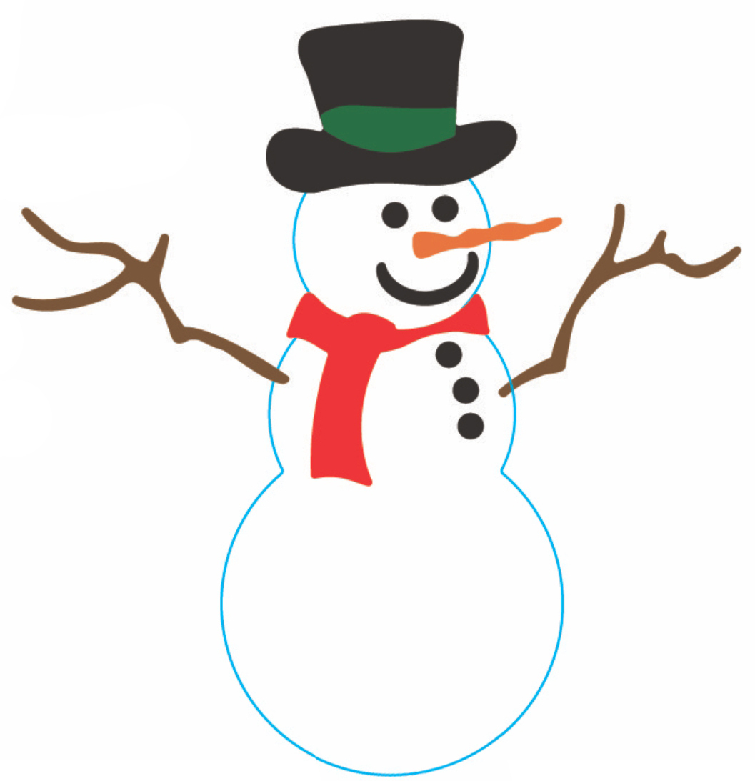 Frosty the snowman c140 cheery lynn designs clipart best
