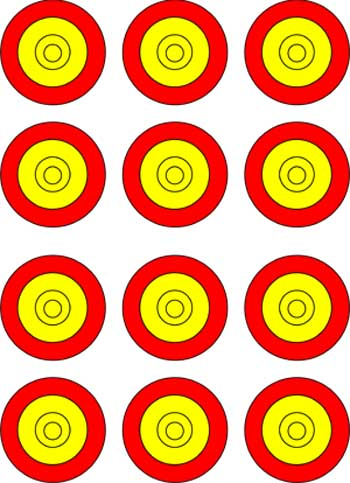 Free Printable Targets created by AT users - ClipArt Best - ClipArt ...