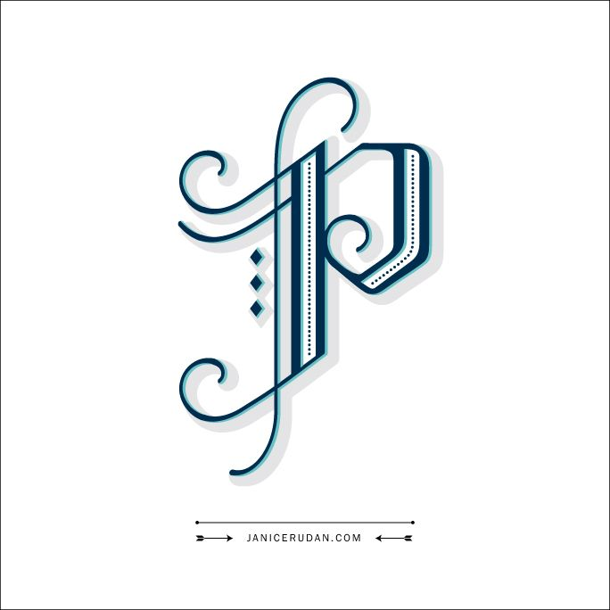 Design Letter P With J Clipart Best