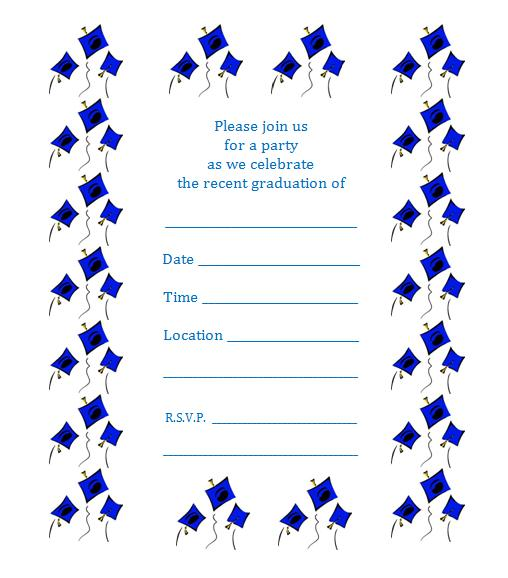 Free Printable Graduation Invitations Great Free Templates Clipart Best Clipart Best