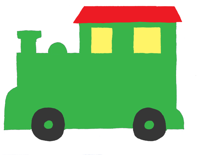 Free Train Template Printable - ClipArt Best
