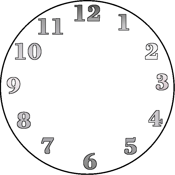 Best Photos of Blank Clocks With Numbers - Blank Clock Face ...