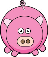 Free Pig Clipart - Clip Art Pictures - Graphics - Illustrations