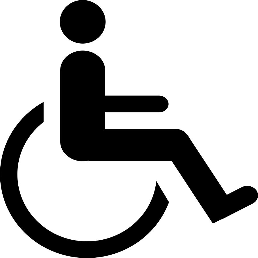 Printable handicap sign clipart best for Handicap template