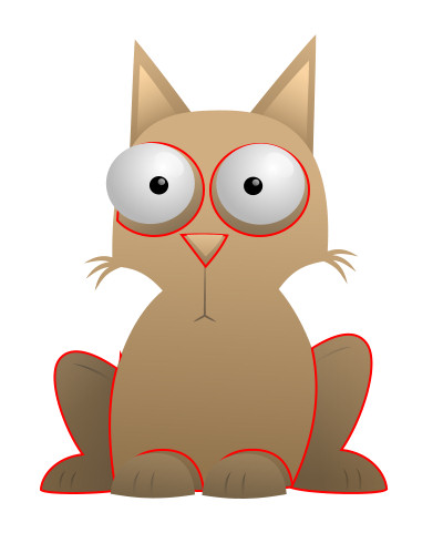 Cartoon Cats With Big Eyes - ClipArt Best