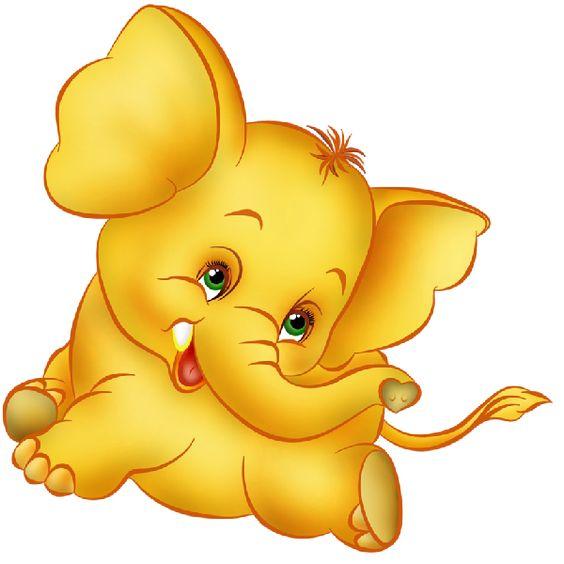 Baby Elephant Cartoon - ClipArt Best