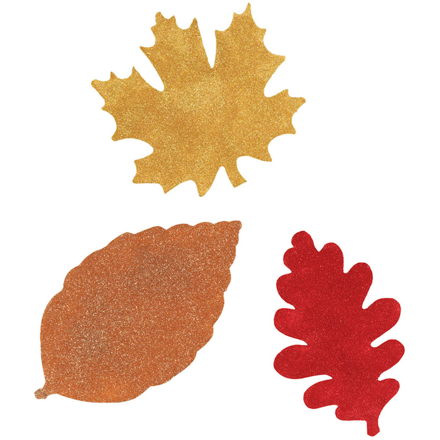how to make fall leaves out of paper