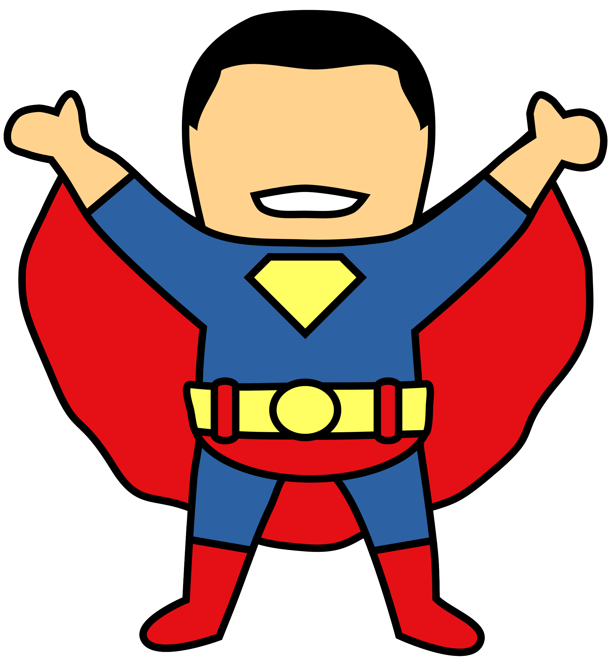 superman birthday clipart - photo #12