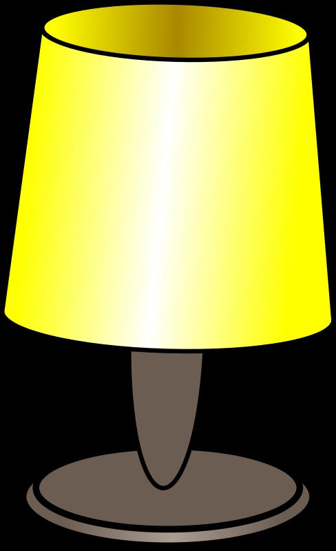Clip Art Of Lamp