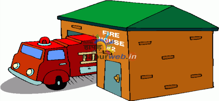 clip art of fire station - photo #43