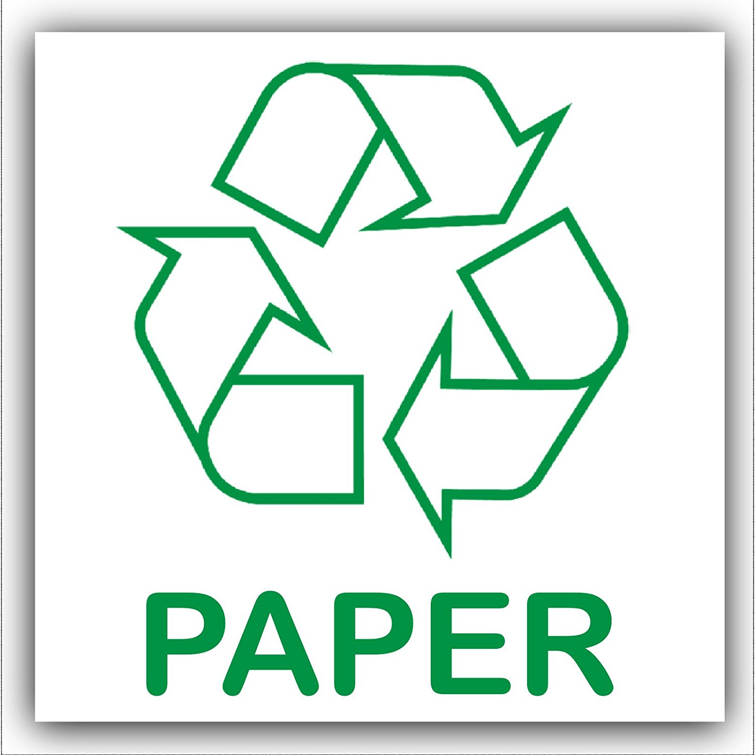 Paper Recycling Sign Recycle Paper - ClipAr...