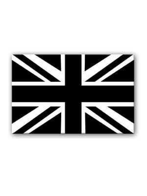 British Flag Black And White - ClipArt Best