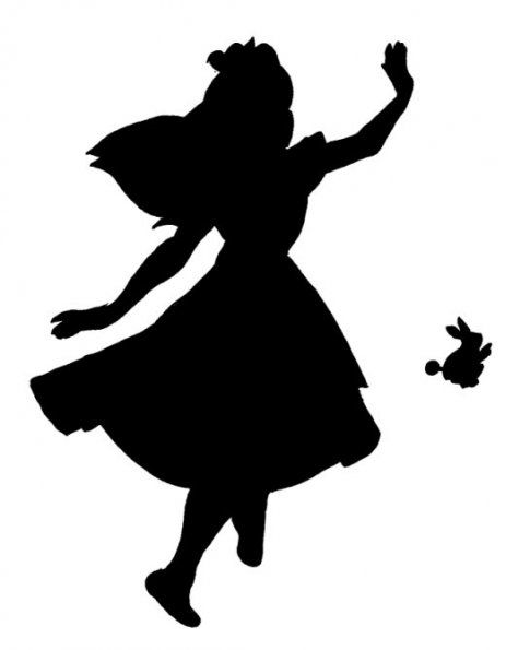 Disney, Stencils and Disney silhouettes