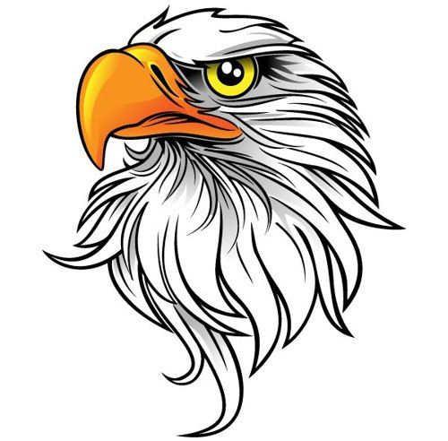 Black And White Pictures Of Eagles - ClipArt Best