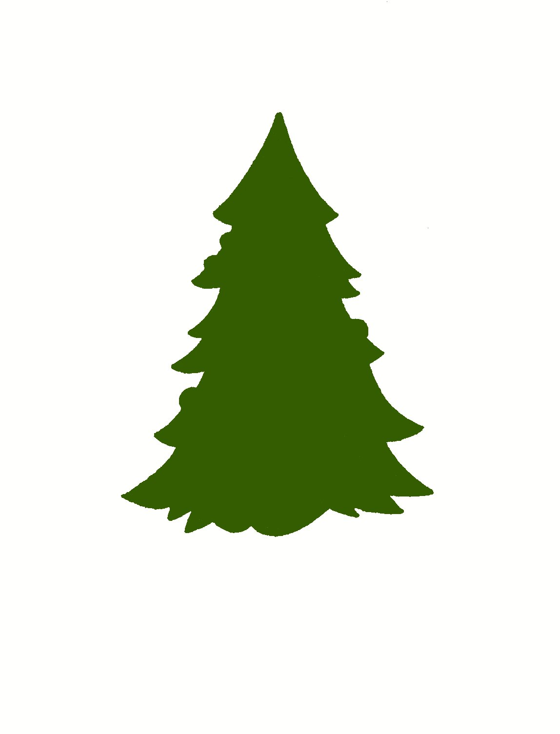 Evergreen Tree Vector - ClipArt Best