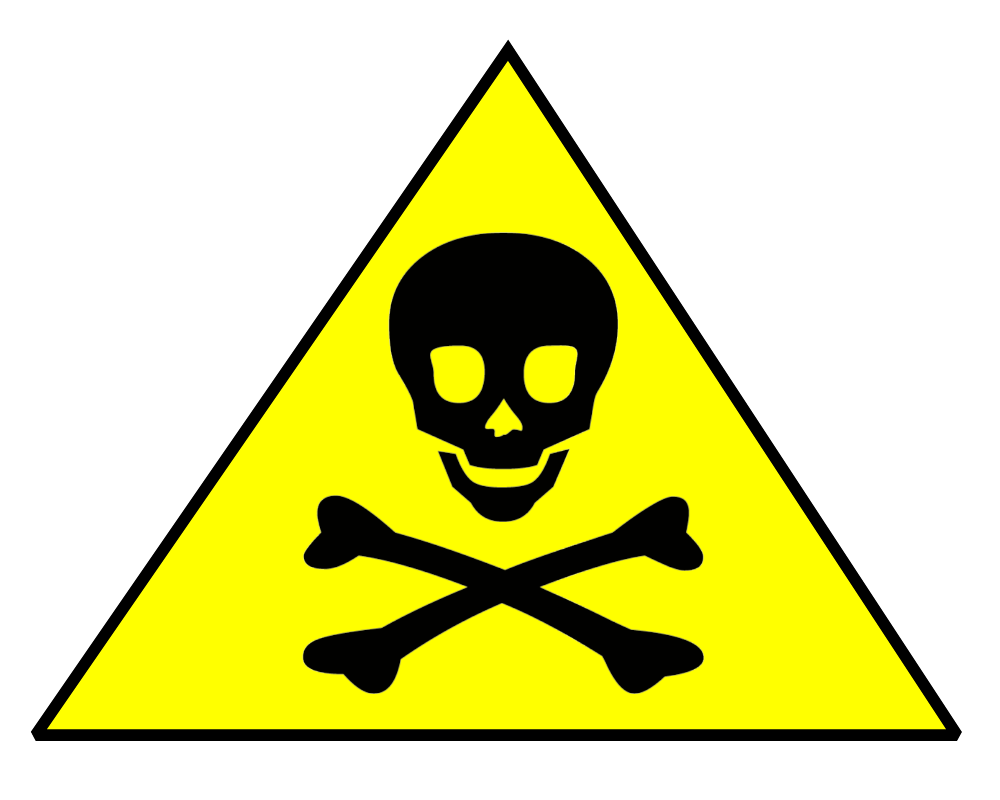 Harmful Warning Sign - ClipArt Best