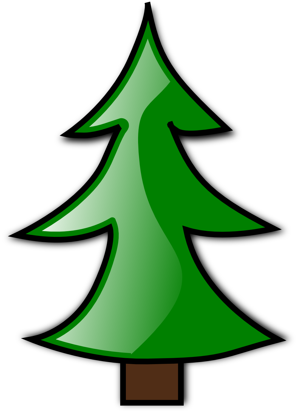 Christmas Tree | Funny Clip art and Holidays Pictures - ClipArt Best ...
