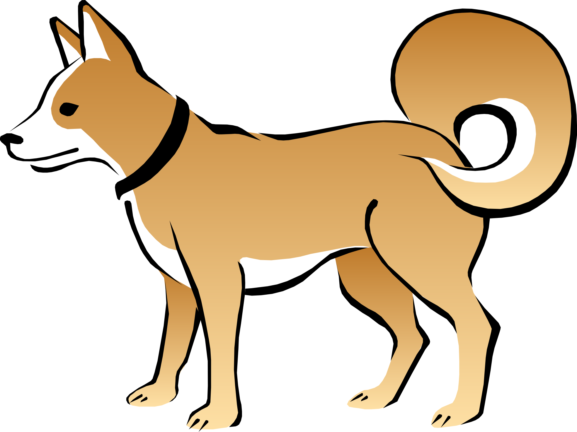 Cartoon Dogs Clipart Clipart Best