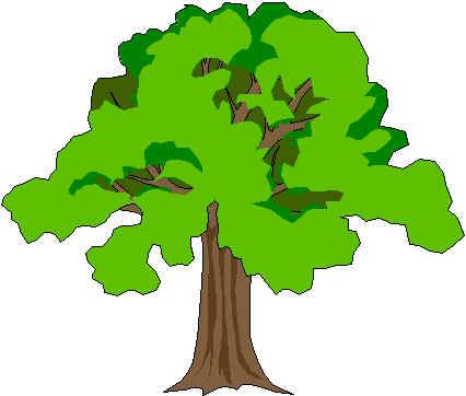 Cartoon Tree Tops