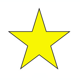 printable picture of a star   clipart best