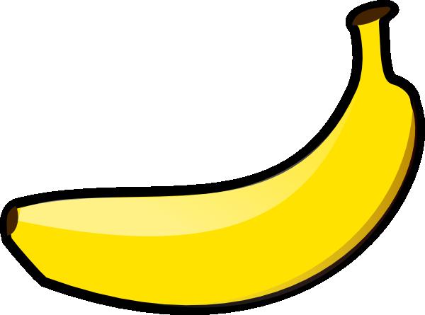 Banana Clip art - Foods Drinks - Download vector clip art online