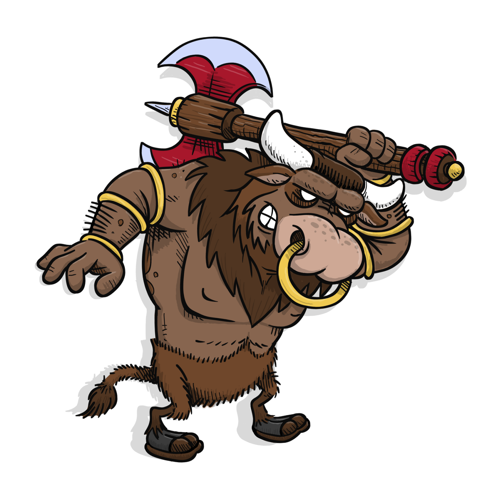 Minotaur Cartoon Kids - ClipArt Best