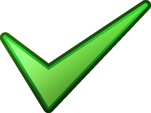 Image Green Tick - ClipArt Best