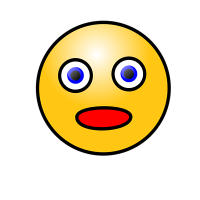 Surprised Smiley Image - ClipArt Best