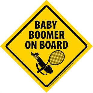... Baby Boomer On Board Yellow Bumper ... - ClipArt Best - ClipArt Best